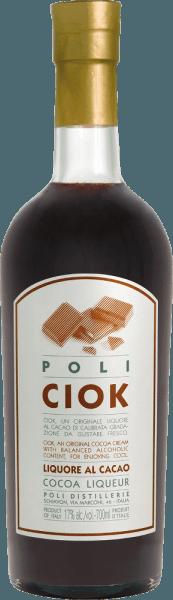 Likier kakaowy Poli Ciok firmy Jacopo Poli to kremowy likier czekoladowy rafinowany Poli Grappa. Absolutna uczta dla wszystkich miłośników czekolady. W szklance likier ten prezentowany jest w mocnym czekoladowym brązie. Intensywny bukiet pachnie cudownie ciemnym kakao i typowymi, delikatnymi aromatami Poli Grappa. Na podniebieniu, oczywiście, kontynuuje z bujną, ciemną czekoladą. Cudownie kremowa, kremowa konsystencja towarzyszy długiemu, trwałemu pogłosowi. Produkcja likieru kakaowego Poli Ciok Do produkcji tego likieru kremowego Poli używa delikatnej gorzkiej czekolady, mleka świeżego i oczywiście własnej grappy, aby wyczarować ten pysznie kremowy, czekoladowy likier. Polecana porcja likieru kakaowego Poli Ciok Jacopo Poli Podawaj ten likier czekoladowy schłodzony z deserami - takimi jak lody, budyń czy ciasto.