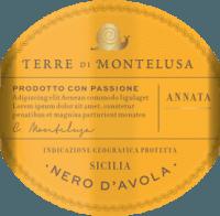 Podgląd: Nero d'Avola Terre Siciliane IGP 2019 - Terre di Montelusa