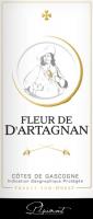 Podgląd: Fleur de d'Artagnan Rosé Côtes de Gascogne 2019 - Plaimont