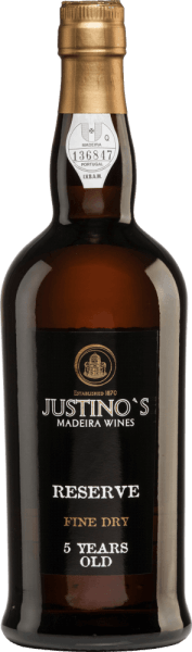 Reserve Fine Dry 5 Years Old - Vinhos Justino Henriques