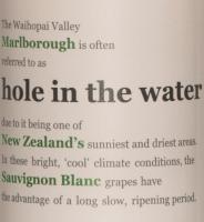 Podgląd: Hole in the Water Sauvignon Blanc Etikett