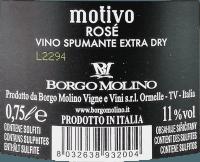 Podgląd: Motivo Rosé extra dry - Borgo Molino