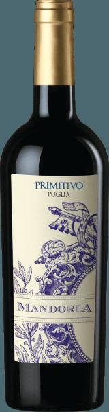 Primitivo of Mandorla to pikantne, owocowe i miękkie czerwone wino z włoskiego regionu winiarskiego Puglia. Wino to prezentowane jest w mocnym, jasnoczerwonym kolorze. Nos wypełniają owocowe aromaty czerwonych jagód (malin), czarnych wiśni z delikatną nutą pikantnego pieprzu i niuansami suszonych owoców. Na podniebieniu to włoskie czerwone wino jest cudownie okrągłe dzięki miękkim garbnikom. Soczysty, mocny smak odsłania ciemne jagody (jeżyny i czarne porzeczki) i prowadzi do długiego, przyjemnego posmaku. Ogólnie rzecz biorąc, Primitivo Mandorla jest harmonijny i złożony spadek. Winifikacja odmiany Mandorla Primitivo Puglia Po starannym zbiorze winogron Primitivo z wytwórni winorośli Mandorla, zebrany materiał jest najpierw odkamieniany, mieszany, a powstały zacier fermentowany pod kontrolą temperatury w zbiornikach ze stali nierdzewnej. Puree jest ostatecznie wyciskane i to wino jest przechowywane częściowo w stalowych zbiornikach, a częściowo w dużych drewnianych beczkach, gdzie to czerwone wino jest zaokrąglane i w końcu napełniane na butelki. Mandorla Primitivo przyjdzie do nas w Niemczech. Polecane jedzenie dla Primitivo Mandorla Polecamy to wytrawne czerwone wino z Włoch z antypasti, pizzą, makaronem, mocnymi (również grillowanymi) daniami mięsnymi i dojrzałym serem.