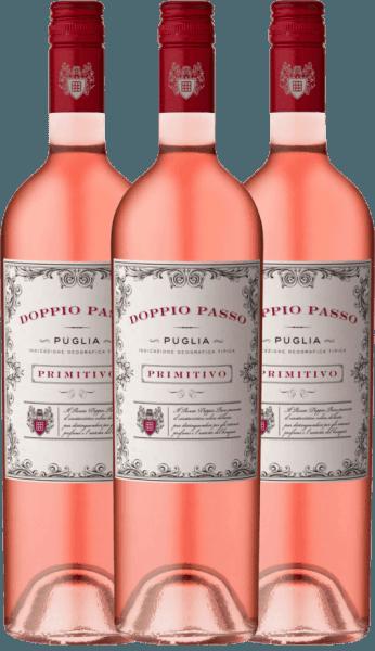 3er Vorteils-Weinpaket - Doppio Passo Rosato IGT 2020 - CVCB