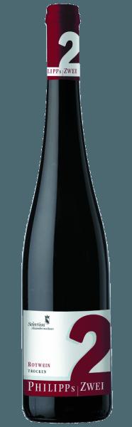 Wyglądający kompleksowo Zwei Rotweincuvée Philippa autorstwa Phillipa Kuhna zachwyca imponującą elegancją. Czerwone wino emanuje intensywnymi aromatami owoców leśnych, którym towarzyszą subtelne nuty czekolady i ziół. Odrobina świątecznej przyprawy dopełnia zapach, a biały pieprz zapewnia piękny efekt aha. Potężne garbniki dają mu niezbędny kęs i długie życie. Winifikacja/Produkcja Przez prawie dwa lata mieszanka ta dojrzewa w dwuletnich dębowych beczkach.Jak wszystkie czerwone Philippa Kuhna, wino zostało bezkompromisowo sfermentowane. Po zbiorze ręcznym łodygi czerwonych winogron są oddzielane, a winogrona przechowywane w pojemniku na zacier. Fermentacja odbywa się tam przez okres od 10 dni do 3 tygodni. Przez okres około 20 miesięcy przechowywany jest w celu dojrzewania w dwuletnich dębowych beczkach francuskich. Sugestia podawania/Parowanie potraw Zwei Rotweincuvée Philippa autorstwa Phillipa Kuhna to bardzo dobry dodatek do mocnych dań mięsnych. Nagrody/Nagrody minionych lat Eichelmann - Ascendant of the Year 2010Gault Millau - Ascendant of the Year 2011