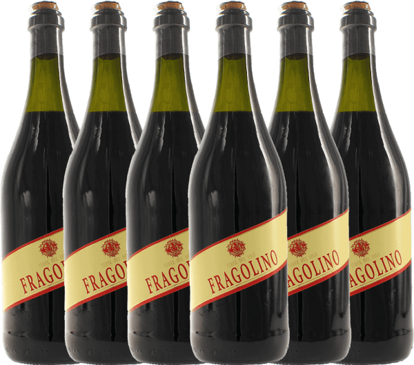 6er Vorteilspaket - Fragolino Rosso - Terre del Sole