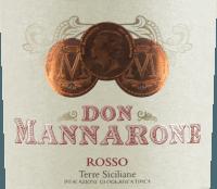 Podgląd: Don Mannarone Rosso Terre Siciliane IGT 2019 - Mánnara