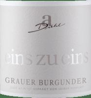 Podgląd: Grauer Burgunder eins zu eins Kabinett trocken 2020 - A. Diehl