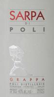 Podgląd: Sarpa di Poli Grappa 0,1 l Baby in GP - Jacopo Poli