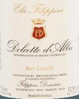 Podgląd: Sori Capelli Dolcetto d'Alba DOC 2019 - Elio Filippino