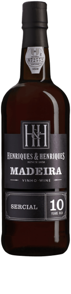 Sercial 10 Years Old Madeira DOP - Henriques & Henriques
