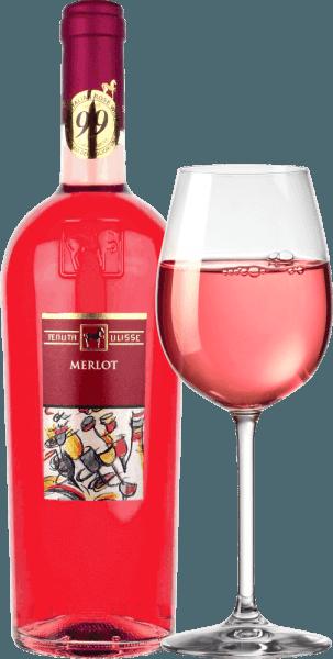 """Merlot Rosato by Tenuta Ulisse jest różowym bestsellerem najlepszych win w Abruzji. Przychodzi do szklanki z mocną czerwienią malinową i inspiruje nie tylko przyjaciela różowego, ale każdego miłośnika wina, który lubi mocne i wyraziste wina. Przede wszystkim owocowe nuty dojrzałych malin, żurawiny, truskawek i wiśni przenikają przez nos. Owoce uzupełniają nuty kwiatowe, delikatne ziołowe przyprawy i lekkie cytrynowe niuanse różowego grejpfruta, kumkwatu i bergamoty. Kwiatowe nuty hibiskusa i krzewu róży dopełniają bukiet znakomicie. Na podniebieniu Ulisse Merlot Rosato zaczyna się od animowanego, owocowego preludium. Wspaniale przyczepny, soczysty i z witalną kwasowością, ten włoski róż ślizga się po języku. Uczta dla zmysłów. Nic więc dziwnego, że legenda krytyka Luca Maroni uczynił to wino z Ulisse częścią jego najwyższej oceny po raz drugi. Winifikacja Merlot Rosato przez Tenutę Ulisse Ten koronkowy różowy samochód został wyprodukowany w 100% z winogron Merlot uprawianych wokół Crecchio w prowincji Abruzzo w Chieti. Winorośle tutaj zakorzenione są w glebach piaszczystych i od 10-20 lat są w stanie zakopać swoje korzenie głęboko w podziemiu. Piaszczysta gleba nie pozwala winorośli na zbyt dużą ilość wody, co wzmacnia głębokość i zasięg korzeni i sprawia, że winogrona rosną szczególnie intensywnie, ponieważ nie są tak rozcieńczone. Po ręcznym zbieraniu winogrona natychmiast trafiają do piwnicy, są tłuczone i macerowane na zimno przez 12 godzin. Po wyciśnięciu moszczu następuje fermentacja, a następnie trzymiesięczny okres dojrzewania w zbiorniku ze stali nierdzewnej. Polecane jedzenie dla Ulisse Merlot Rosato Ciesz się doskonałym winem różowym z Abruzji z grillowanymi rybami, lekkimi daniami z drobiu i owocami morza. Nagrody dla Ulisse Merlot Rosato Luca Maroni: 99 punktów za 2018 rok -""""Jeden z najlepszych różowych kiedykolwiek"""" Luca Maroni: 99 punktów za 2017 r."""