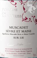 Podgląd: Muscadet Sur Lie Sèvre et Maine AOC 2019 - Domaine des Railleres